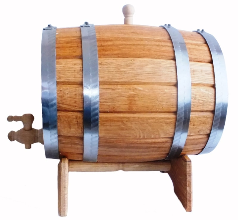 Дубовая бочка для вина и самогона Волгоград