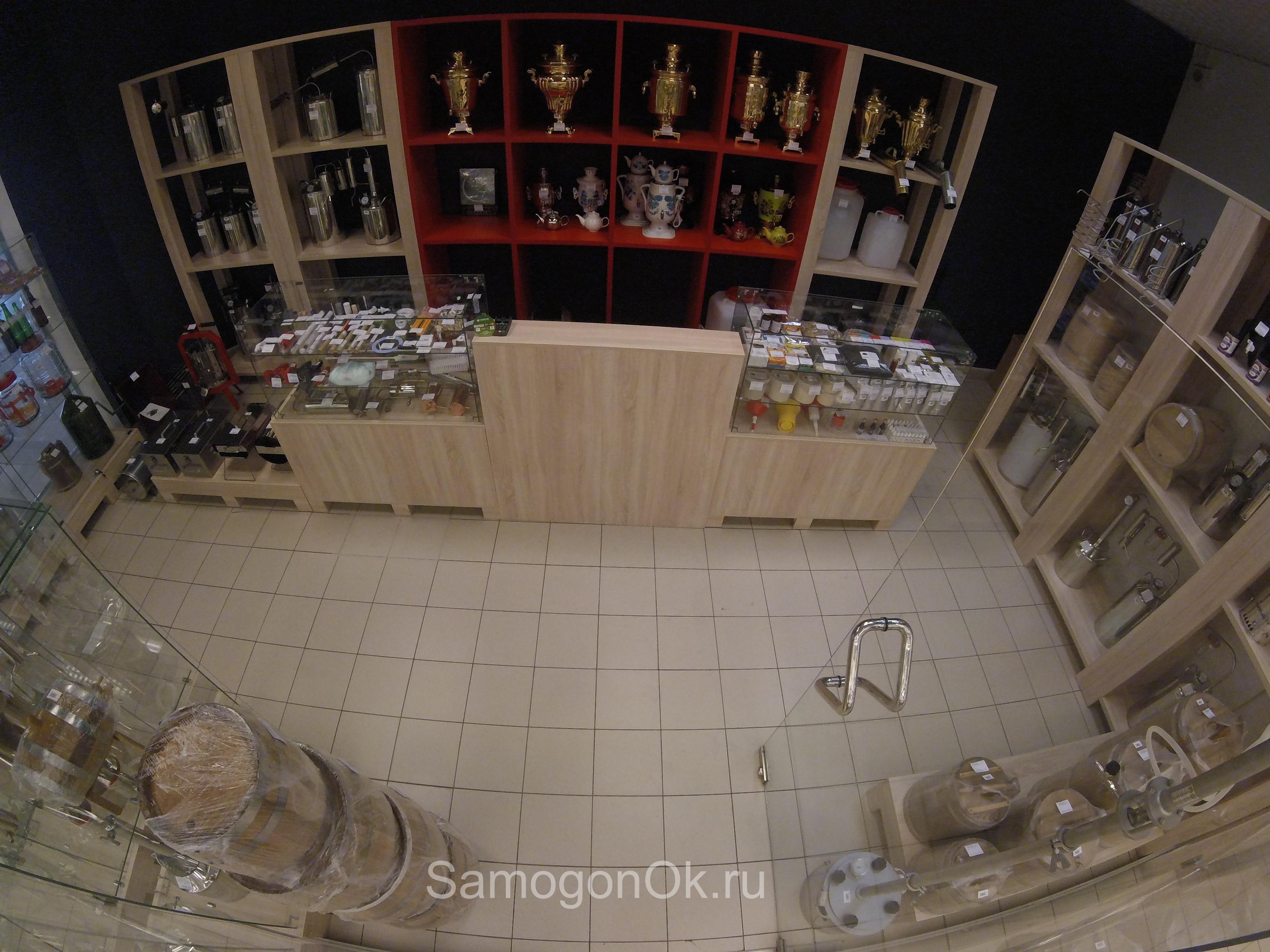 Магазин самогонных аппаратов в гипермаркете ОКЕЙ, мкрн Сипайлово.