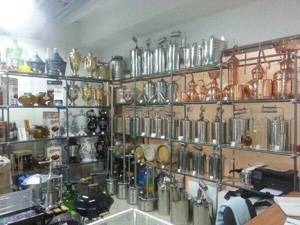 Магазин по продаже оборудования для Самогоноварения.