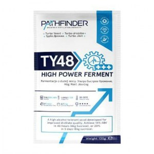Спиртовые дрожжи Pathfinder 48 turbo high power ferment 135г