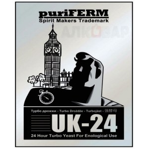 Дрожжи PuriFerm UK-24 Turbo, 175г