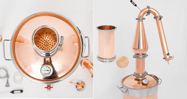 Возможность установки джин корзины для ароматизации