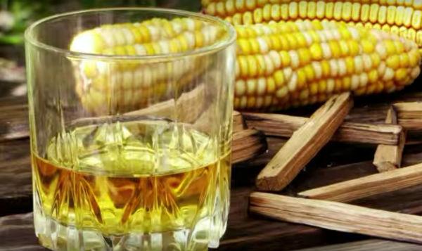 Рецепт приготовления кукурузного бурбона методом горячего осахаривания.
